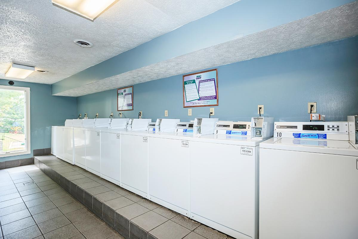 On-site laundry facility at Longwood at Southern Hills