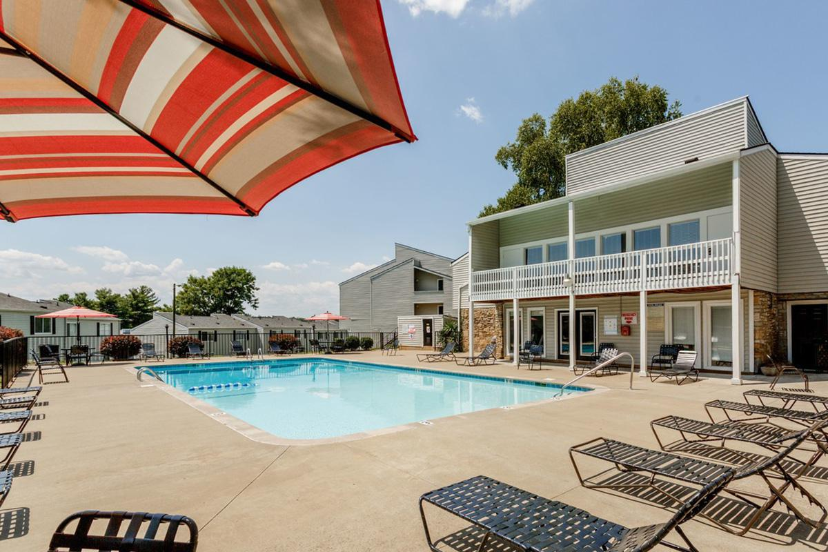 Soak up the sun at the pool at Longwood at Southern Hills
