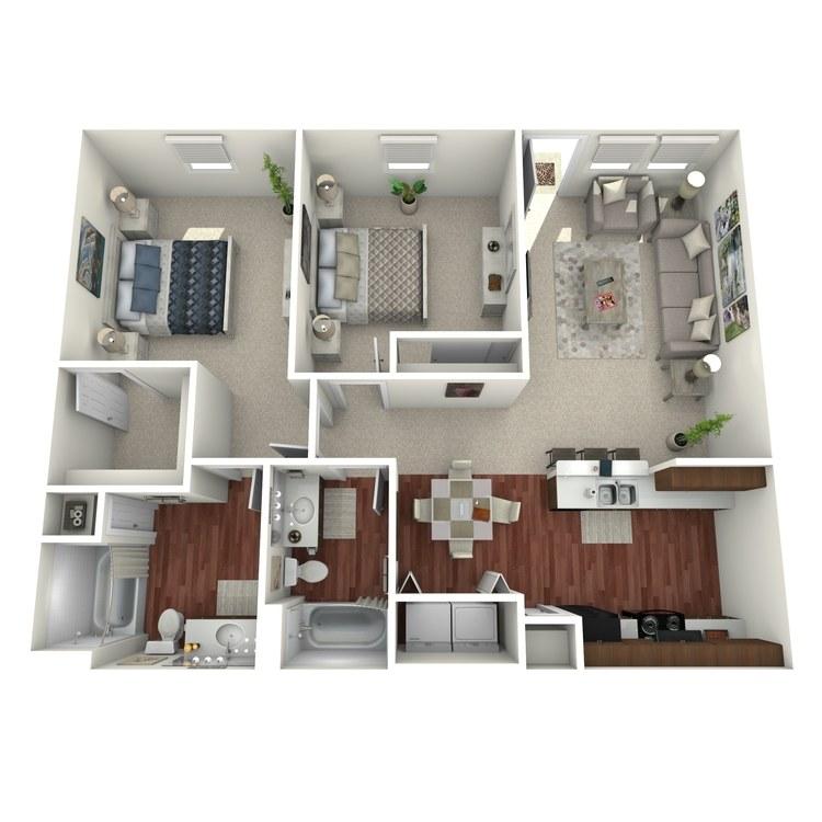 Floor plan image of Zamora