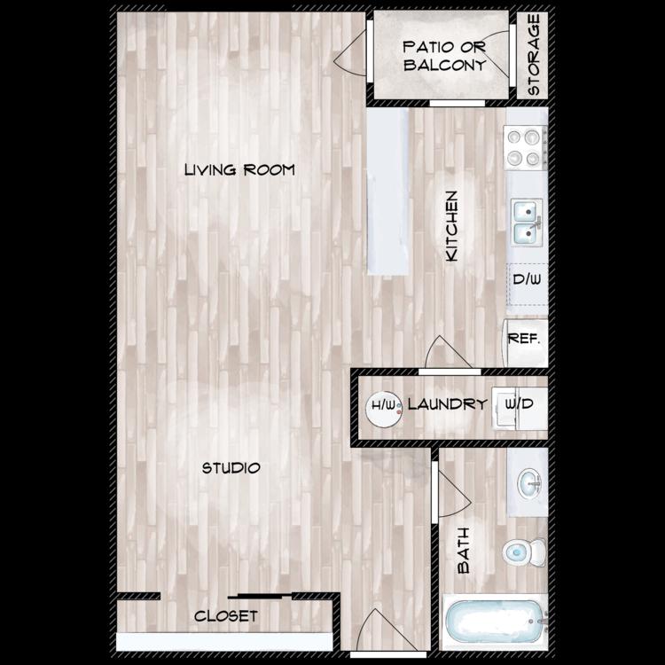 BIRCH floor plan image
