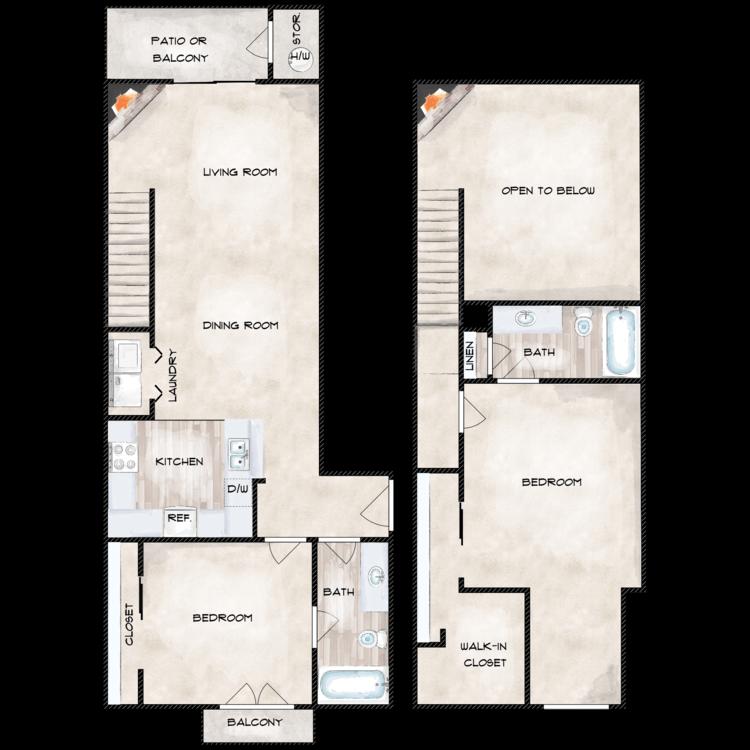 MAGNOLIA floor plan image