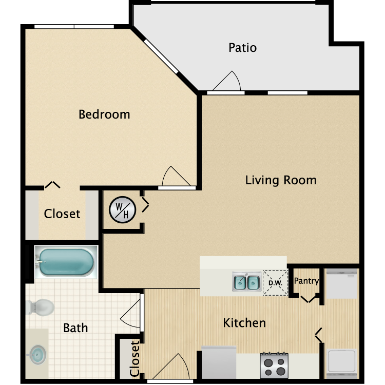 The Turtle floor plan image