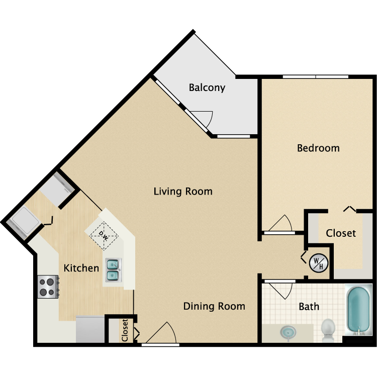 The Coquina floor plan image