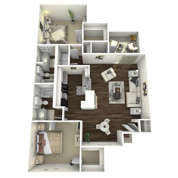 Floor plan image of The Notting Hill