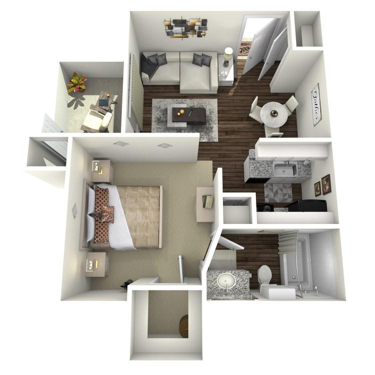 Floor plan image of The Paddington