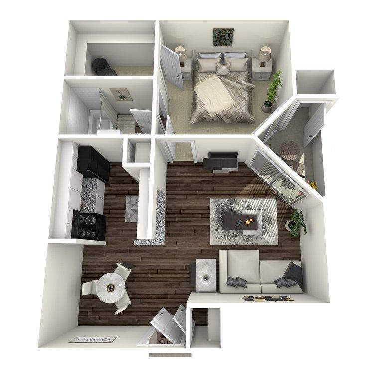 Floor plan image of The Hampstead