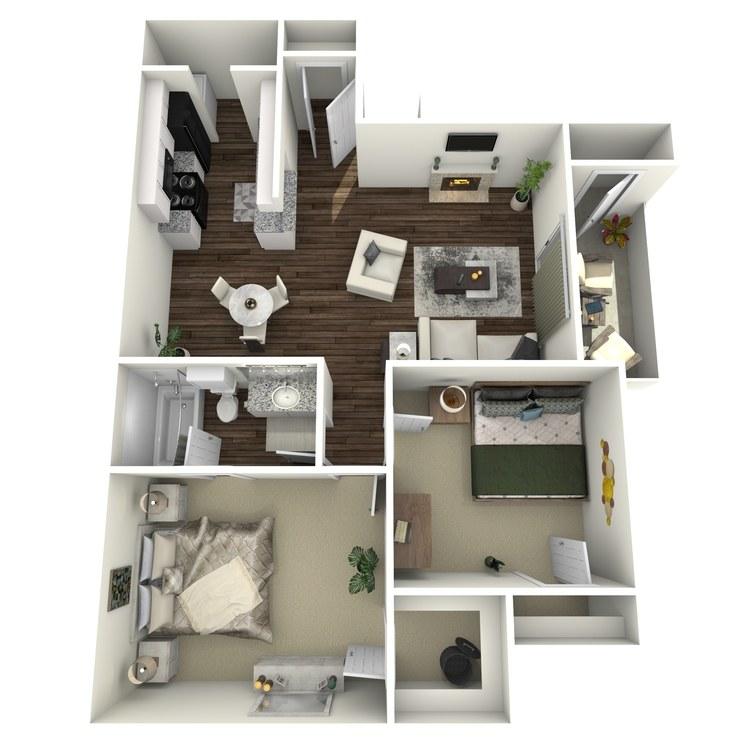 Floor plan image of The Kilburn