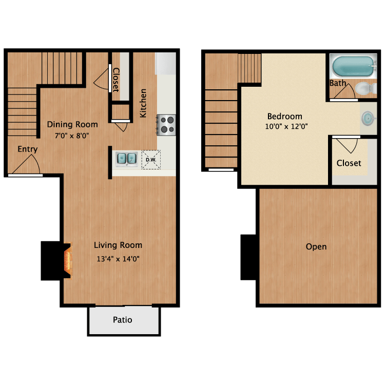 Floor plan image of Oliver