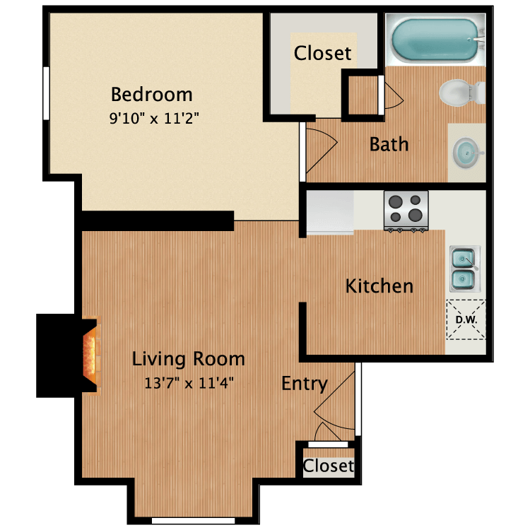 Floor plan image of Milo