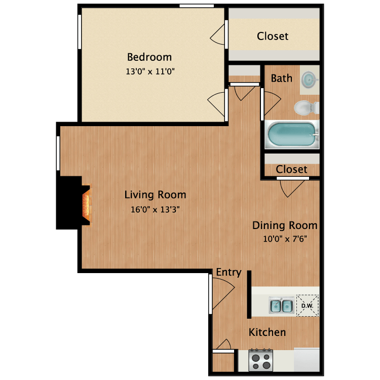 Floor plan image of Sofia