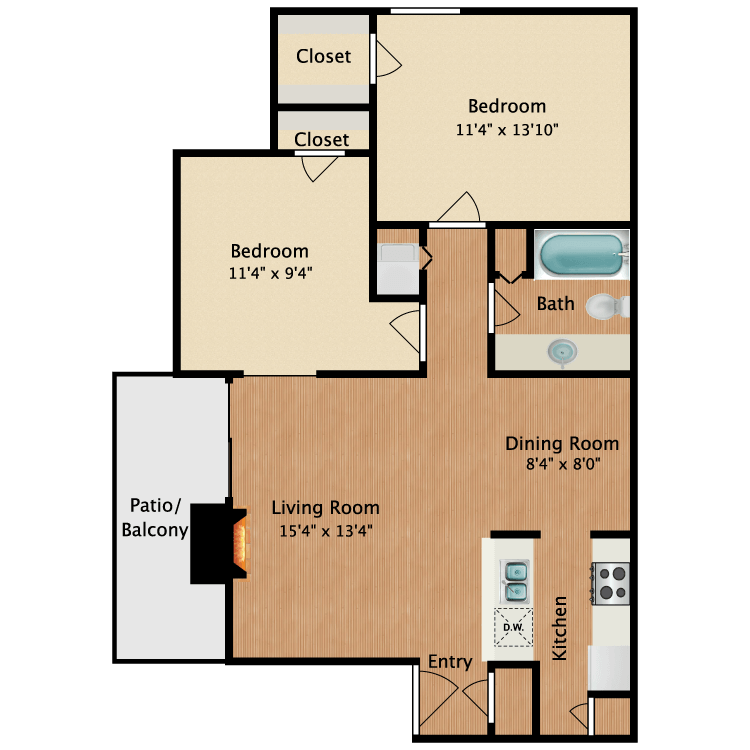 Floor plan image of Simona