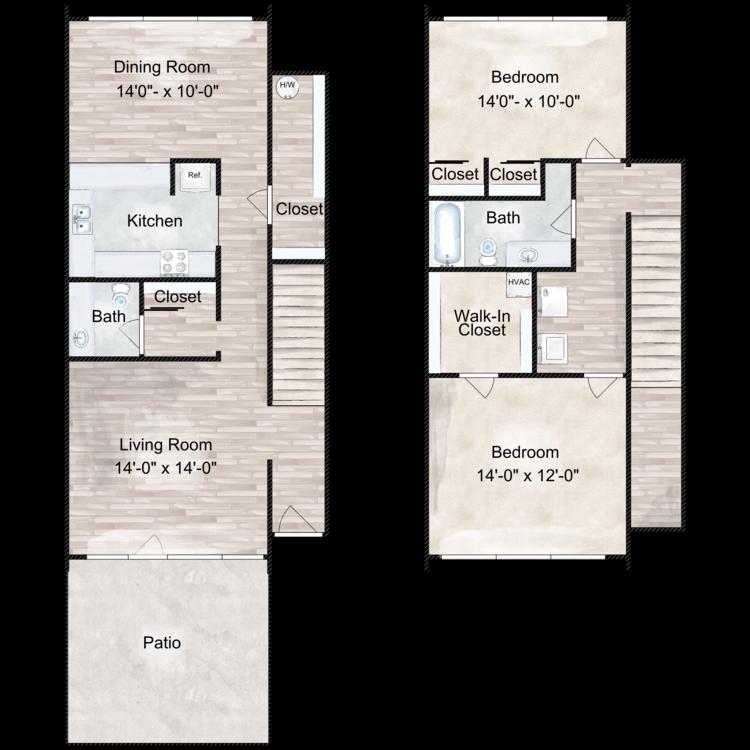 Floor plan image of The Fairmont