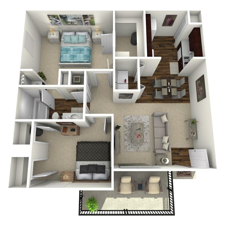 Floor plan image of A 2-1
