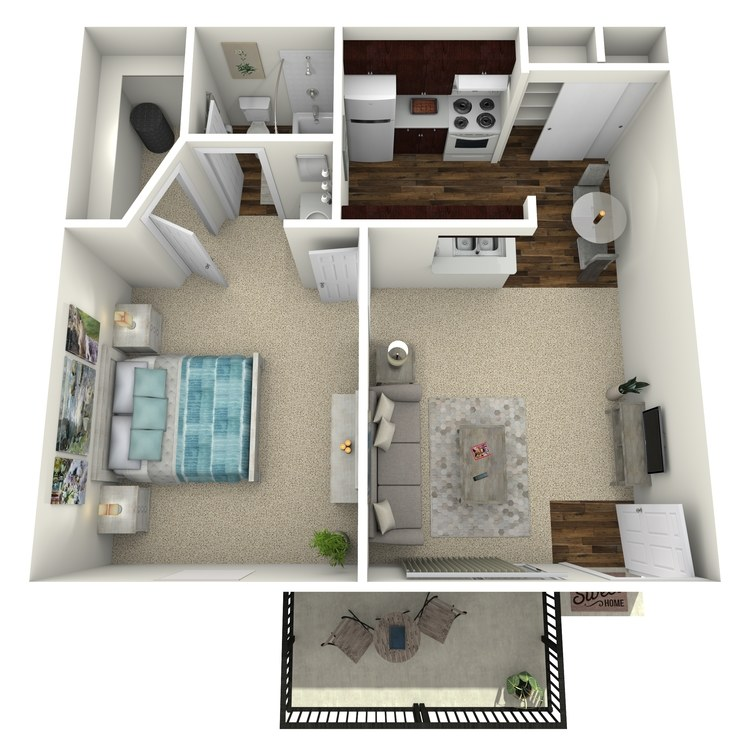 Floor plan image of A 1-1