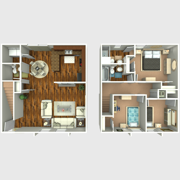 Floor plan image of Remodeled 3x2.5