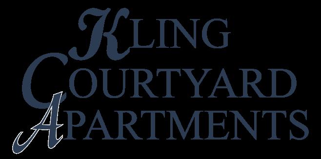 Kling Courtyard Apartments Logo