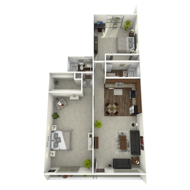 Floor plan image of Harborside