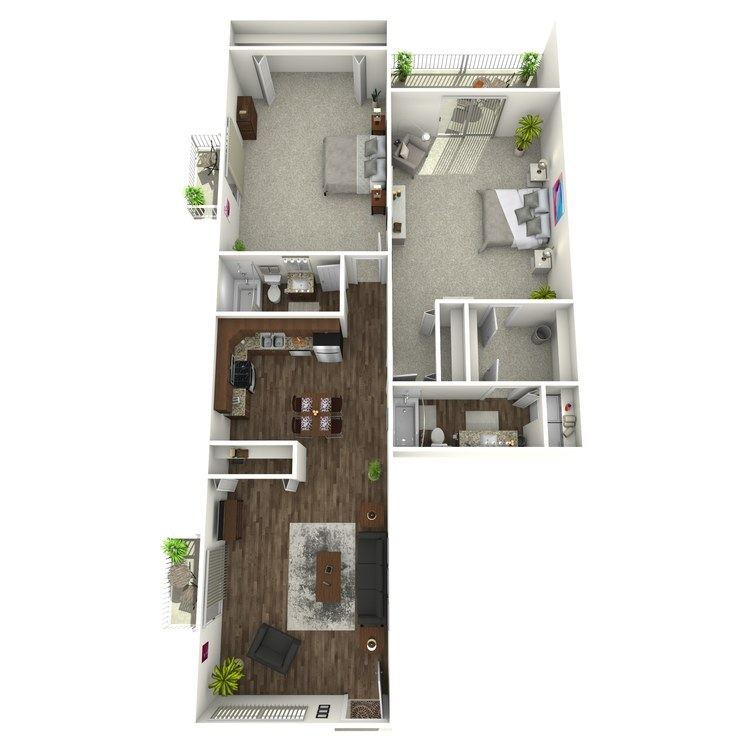 Floor plan image of Lookout Pointe