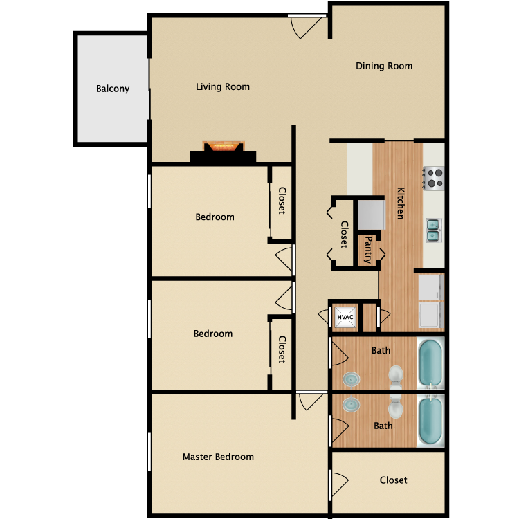 Floor plan image of Richmond