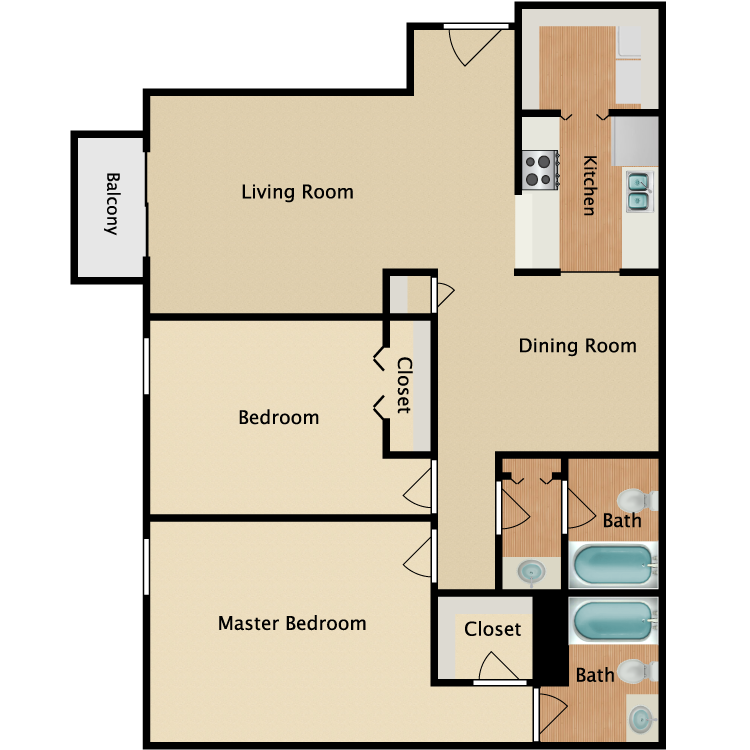 Floor plan image of Charleston