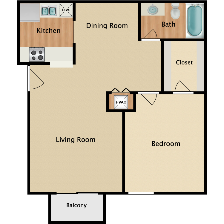 Floor plan image of Lexington