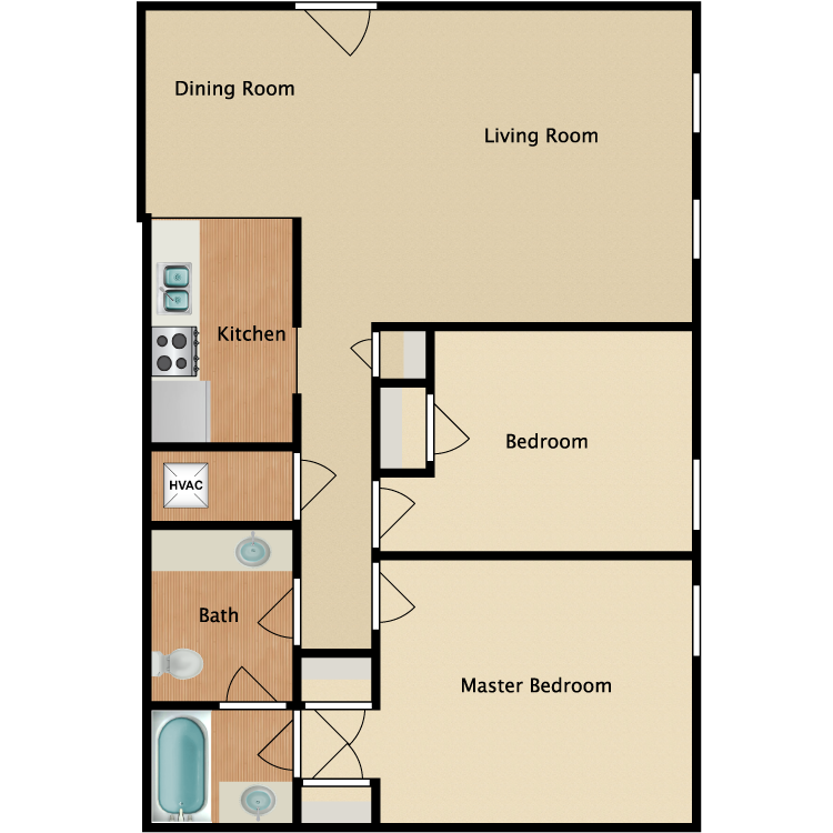 Floor plan image of Louisville