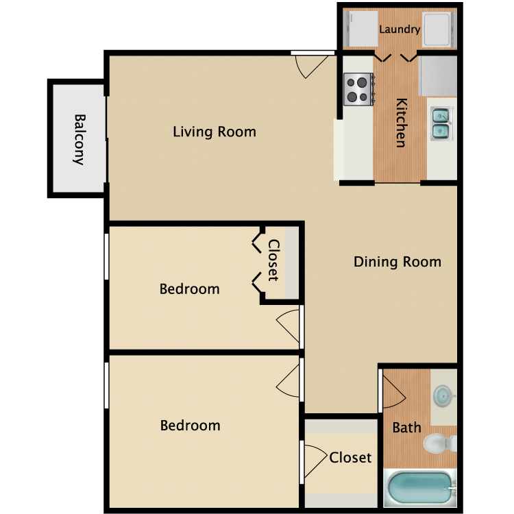 Floor plan image of Savannah