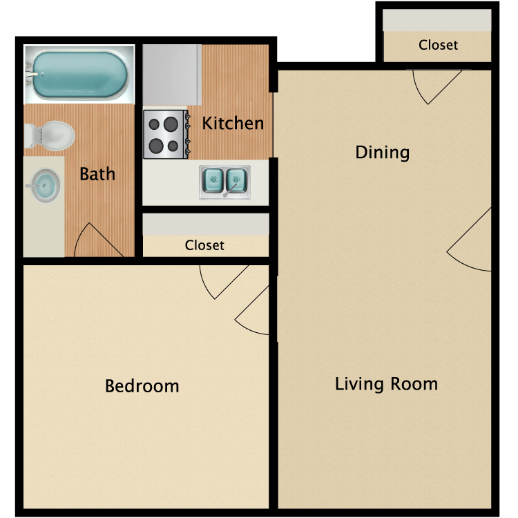 Floor plan image of Williamsburg