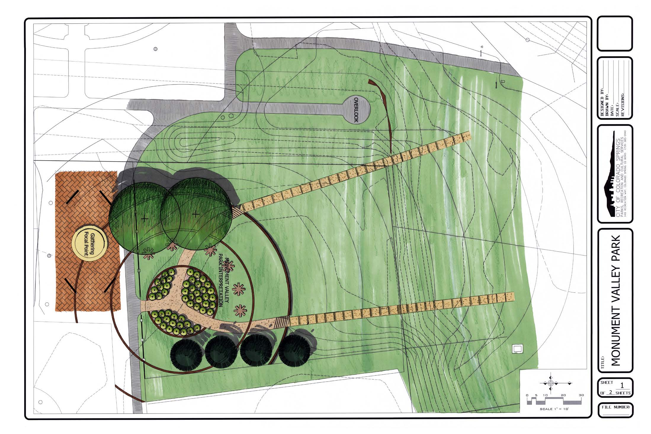 Proposed Mickelson Park Upgrade Plans