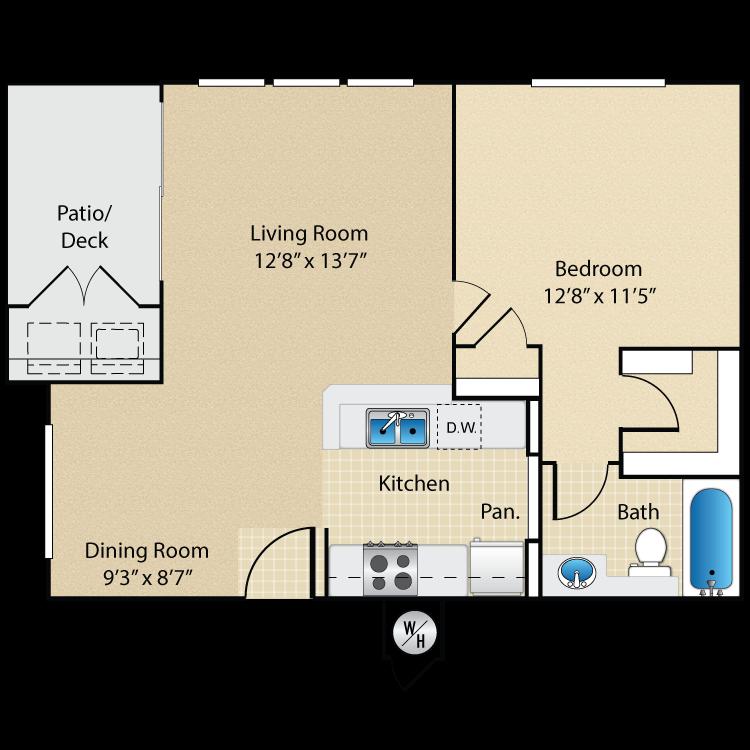 Plan Two floor plan image