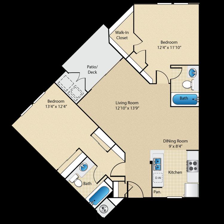 Plan Six floor plan image