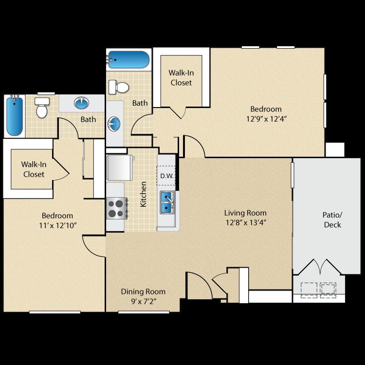 Plan Seven floor plan image